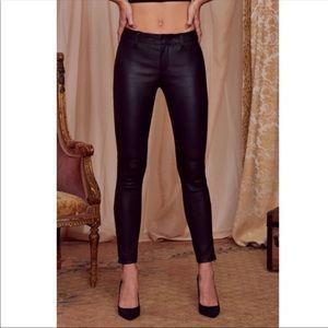 Zara Pants - COURTNEY LOVE x NASTY GAL leather pants. NWT